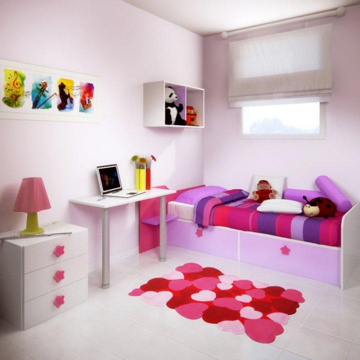 Infantil y beb 3p mobel 3p mobel - Que colores combinan con el lila ...