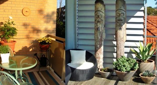 Balcones peque os convertidos en chill out 3p mobel 3p - Muebles para balcones pequenos ...