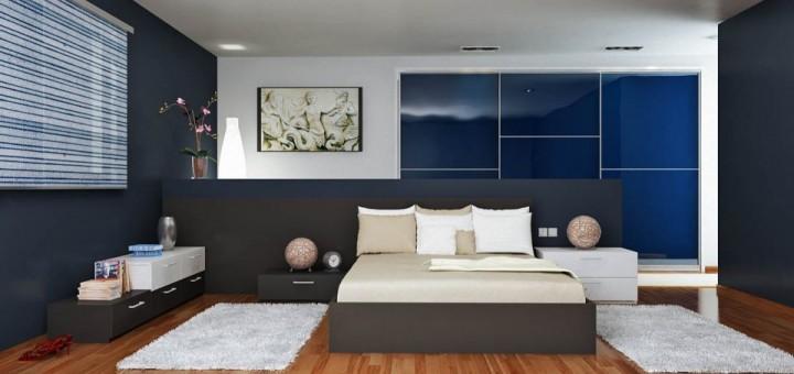 El azul en la decoraci n de dormitorios 3p mobel 3p mobel - Colores azules para habitaciones ...