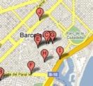 Mapa Botigues 3P