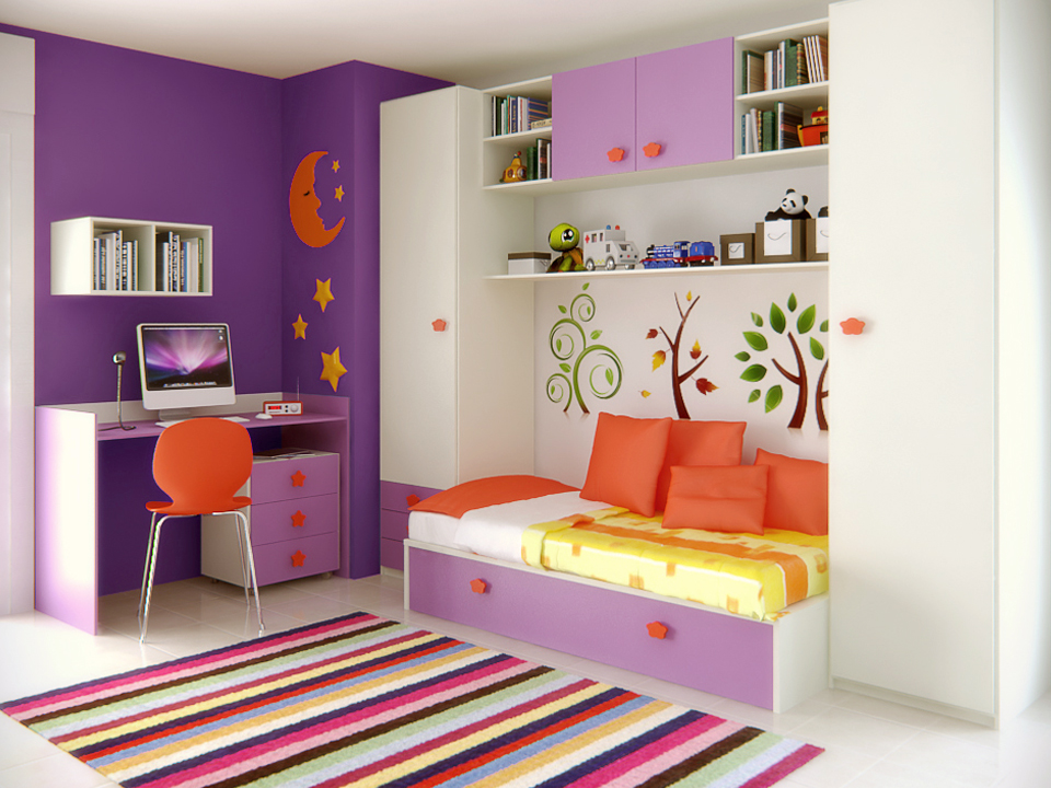 Habitaciones Infantiles Color Lila.Infantil Y Bebe 3p Mobel 3p Mobel